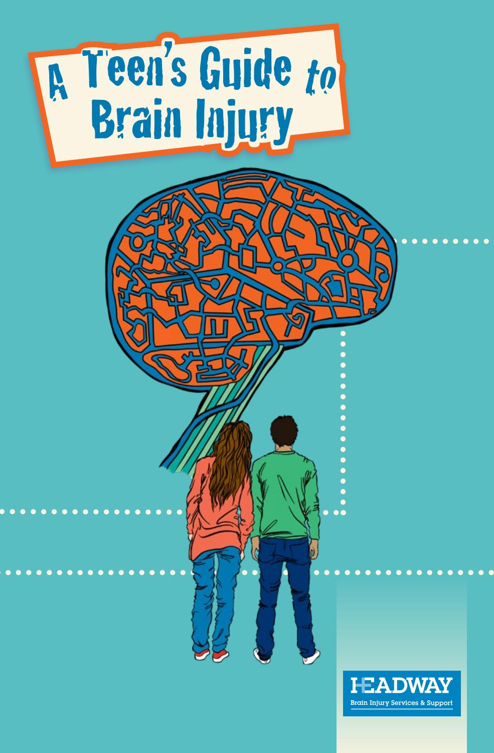 Teens Guide to Brain Injury Cover